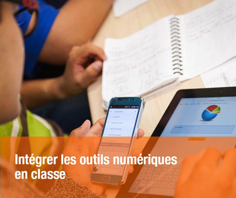 Intégrer les outils numériques en classe