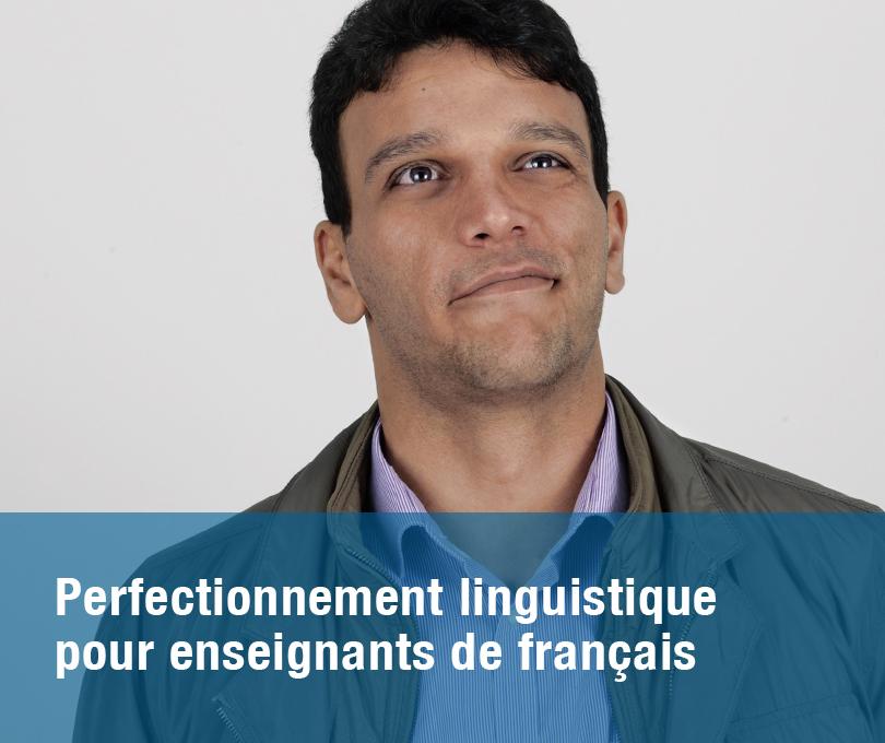 Perfectionnement linguistique pour enseignants de français