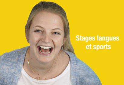 Stages langues et sports