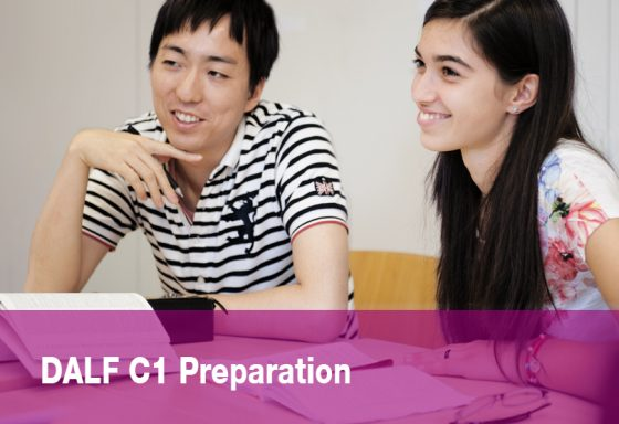 DALF C1 preparation