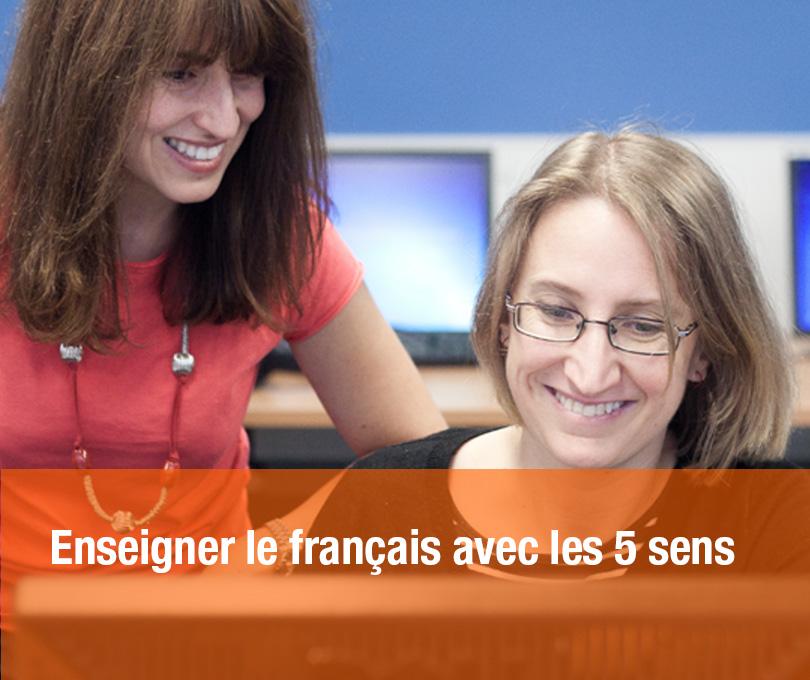 Enseigner le français avec les 5 sens