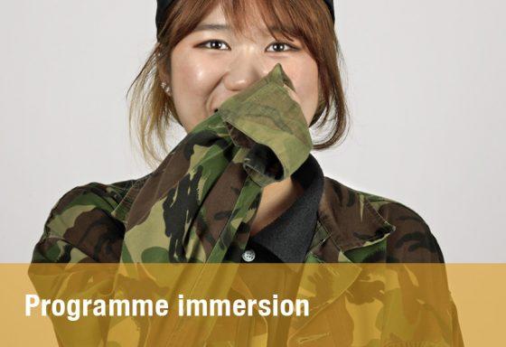 Programme Immersion français