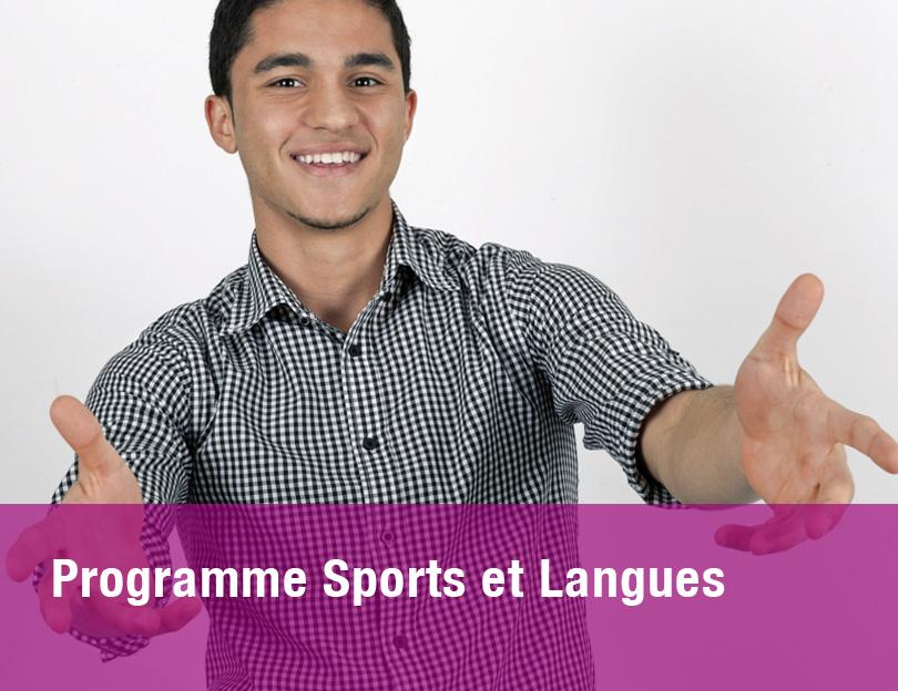 Programme sports et langues
