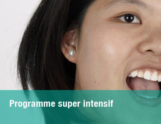 Programme super intensif de français
