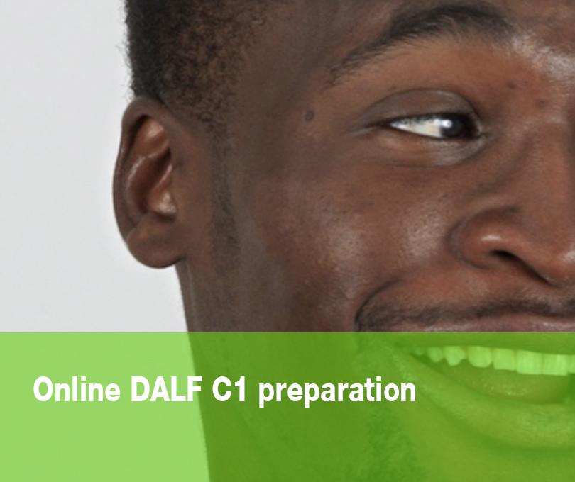 Online DALF C1 preparation