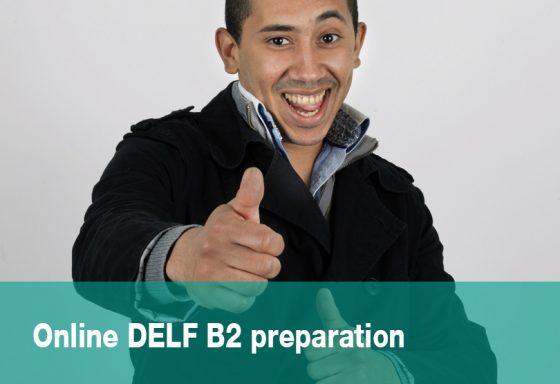 cours en ligne online DELF B2 preparation