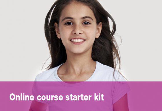 Online course starter kit