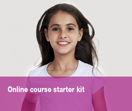 Online course starter kit