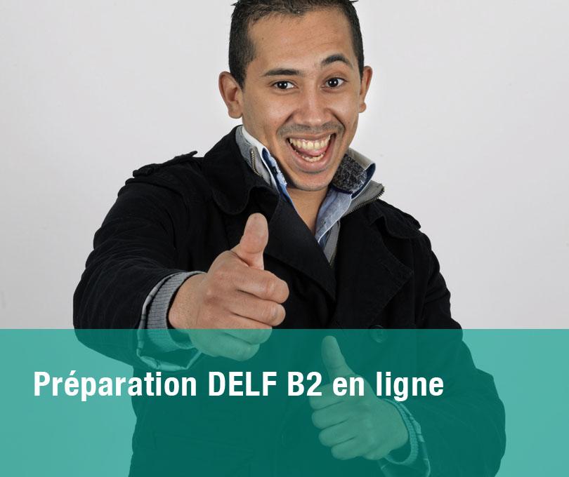 Préparation DELF B2 en ligne