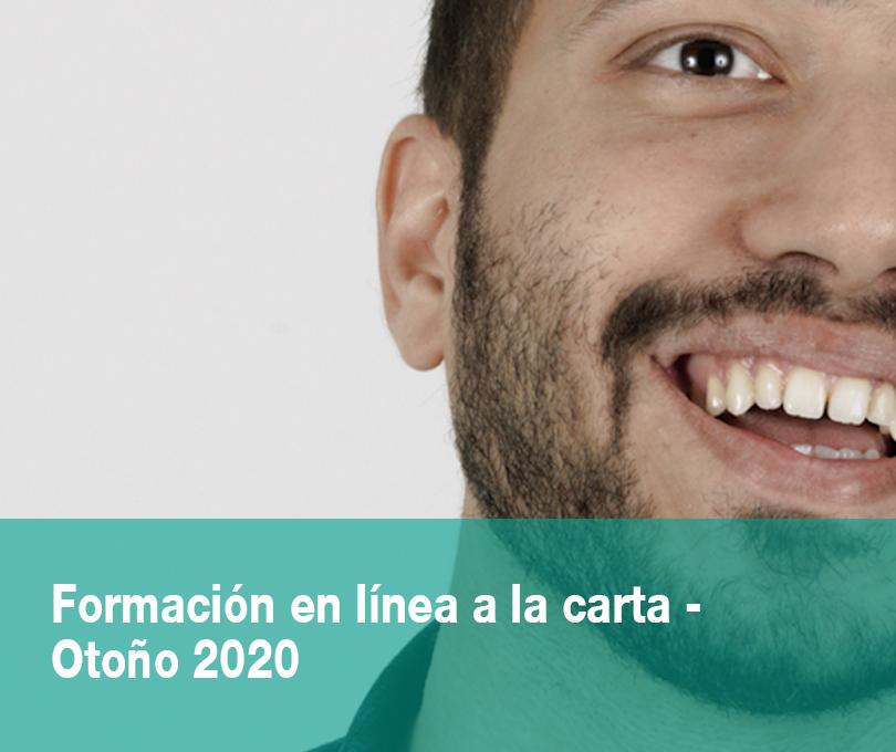 Formación en línea a la carta – OTOÑO 2020