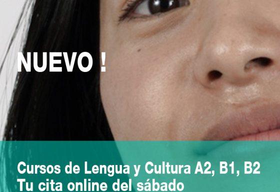 Cursos de lengua y cultura A2, B1, B2 del sabado