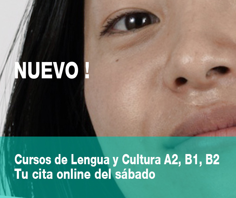 Cursos de Lengua y Cultura A2, B1, B2<br>Tu cita online del sábado