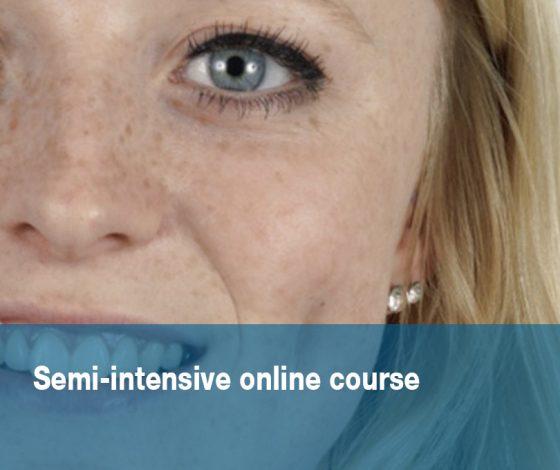 Semi-intensive online course