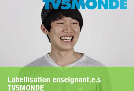 Labellisation enseignant TV5MONDE