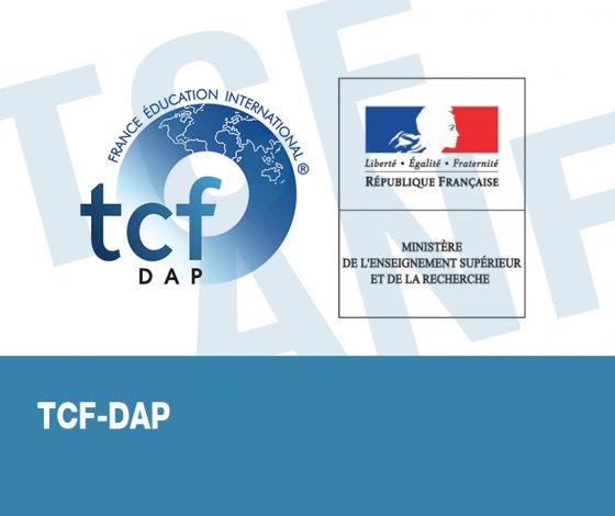 TCF DAP VISUEL
