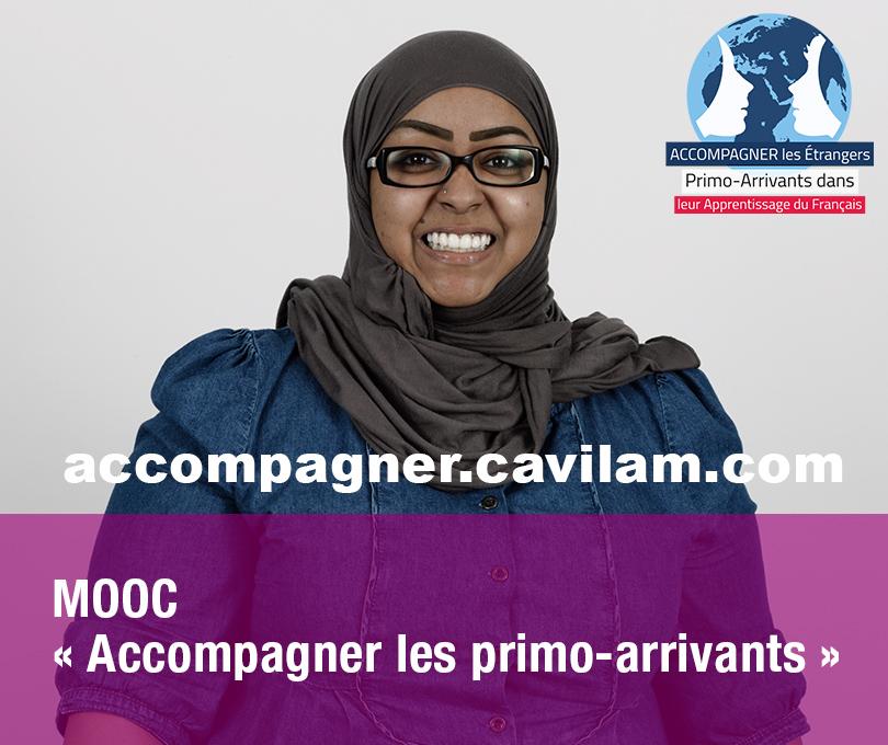 MOOC « Accompagner les étrangers primo-arrivants dans leur apprentissage du français »