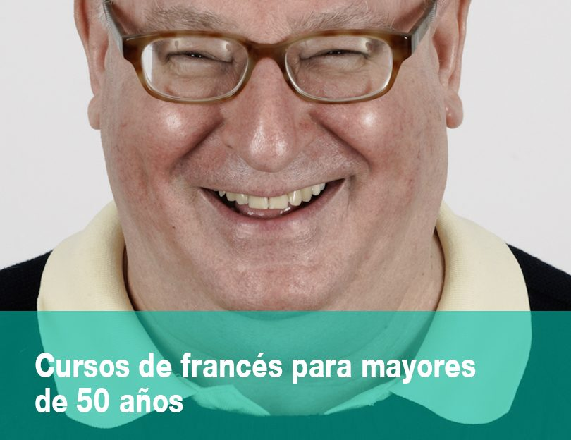 Cursos de francés para mayores de 50 años